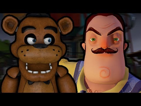 FREDDY PLAYS: Hello Neighbor Beta || FREDDY FINALLY PLAYS THIS GAME!!!