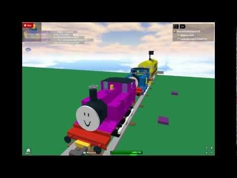 Train Ride With Yrreb Mtg Tests Roblox Part 13 Youtube Thomas And The Magic Railroad Chase Scene Roblox Youtube