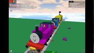 Thomas e la magica scena di inseguimento della ferrovia! (ROBLOX)