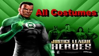 Justice League Heroes All Costumes Xbox