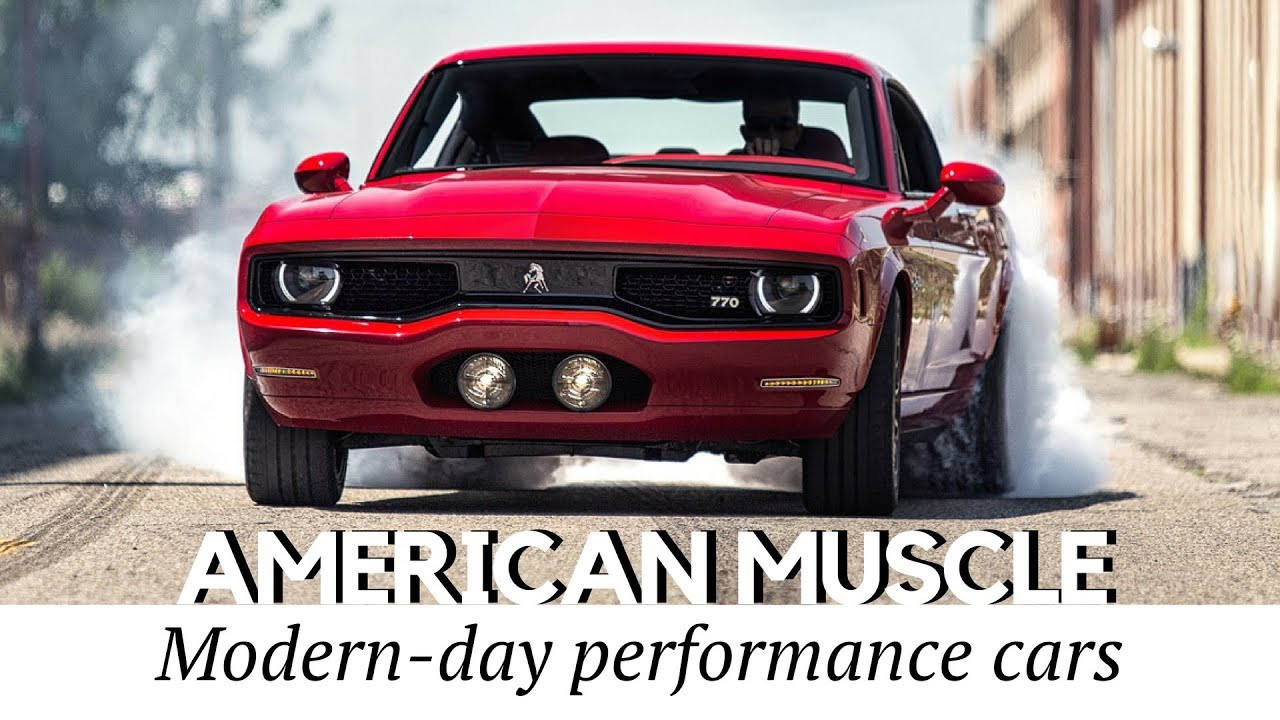 10 New Muscle Cars Better than American Classics (Record Speeds ...