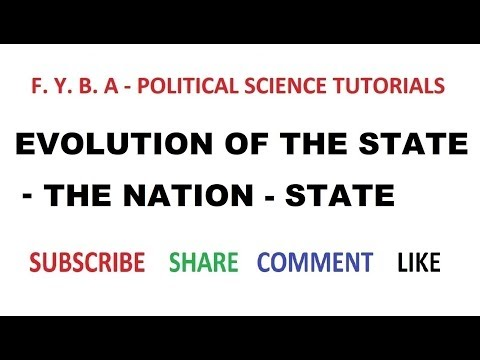 Evolution of the State - Nation State VI