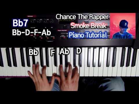Chance the Rapper - Smoke Break (Piano Tutorial)
