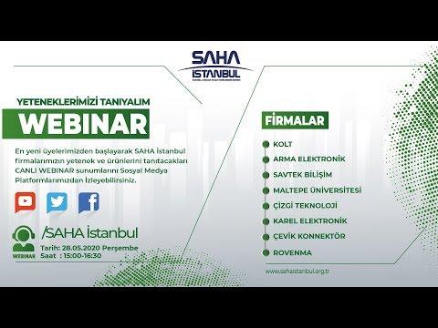 SAHA İstanbul Elektrik Elektronik Komitesi 28.05.2020 Canlı Yayını