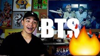 BTS - FIRE MV Reaction [SUGA BURNING IT UP!]