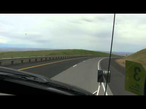 Down the Cabbage Hill: I-84 Westbound (Oregon)