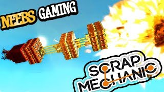 Scrap Mechanic - Bomb Rockets!