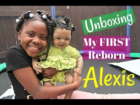 UNBOXING MY NEW REBORN BABY ALEXIS