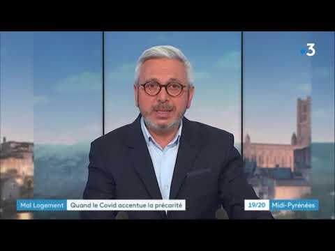 Reportage France 3 sur le mal-logement à Toulouse