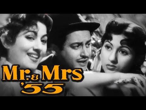 Mr.& Mrs.55 Full Movie | Madhubala Old Hindi Movie | Guru Dutt Movie | Old Classic Hindi Movie