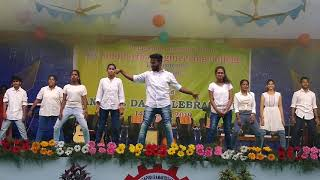 VRSEC 42nd annual day 2k19 Srujana remix undipooradhe stylish tinagarabuchi dance by Teja and team