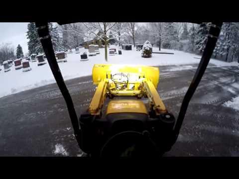 Big 110TLB snowplow day