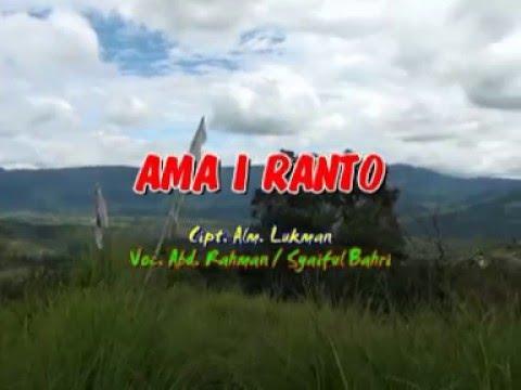 "DIDONG ALIREN MASA ""AMA I RANTO"""