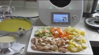 Комплексный обед вместе с Термомикс, рецепты с Термомикс
