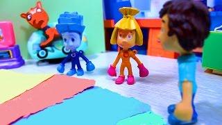 Фиксики   цветная бумага  Мультфильмы для детей