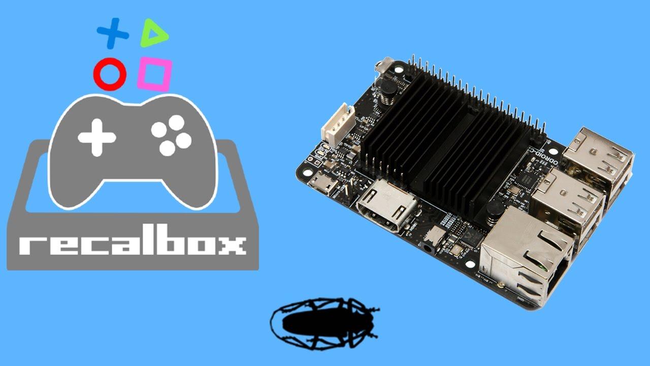 Odroid C2 Recalbox Test Now Named Batocera linux