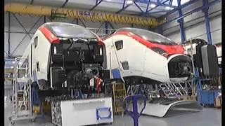 AP CM Visits Stadler Rail factory in Bussnang