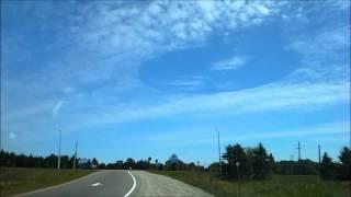 Skypunch in Ontario... Strange circle, hole in the sky... Tajemniczy krąg na niebie