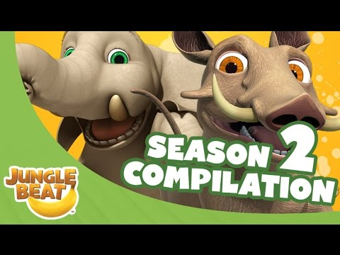 Jungle Beat Season Two Compilation [Full Episodes]