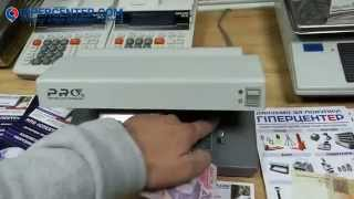 Обзор детектора валют Pro 12PM (УФ детекция, магнитная детекция, донная подсветка)