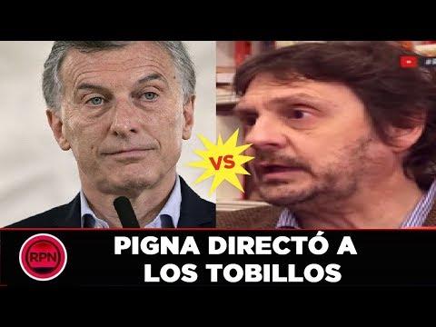 Felipe Pigna critica a Macri