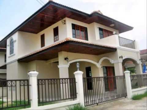 แบบประตูหน้าบ้าน แบบบ้านชั้นเดียวทรงไทย