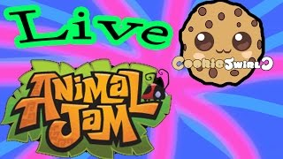 Play Animal Jam LIVE with Cookieswirlc Today - Game Play Today 4 PM