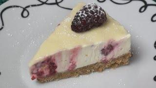 Raspberry & White Chocolate Cheesecake Recipe