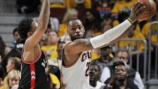 vuclip LeBron James Free Throw Routine From 3! Lowry Injury Raptors Cavs Game 2