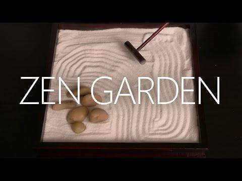 Zen Garden ~ ASMR/Whispering/Crinkles/Sand/Tapping (4K)