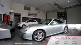 Reprogrammation moteur Porsche 997 Carrera 4S 345 @ 365 PS   ADP Performance