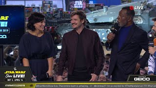 The Cast of The Mandalorian Take The Stage At SWCC 2019 | The Star Wars Show Live!