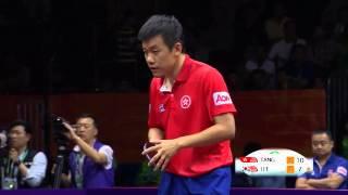 2015WTTC Men's Singles R4 TANG Peng vs LEE Sangsu 唐鹏vs李尚洙
