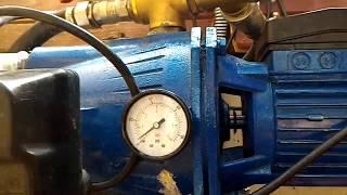 Помогите, пож, почему течет вода с ниппеля насосной станции