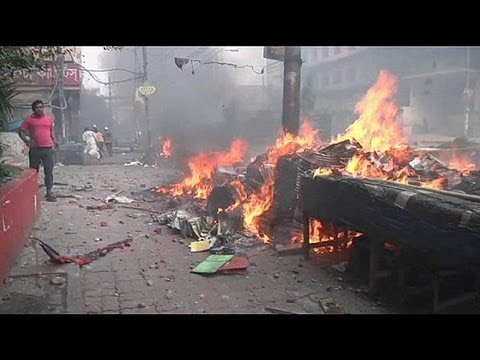 Dozens killed in Bangladesh protest over blasphemy law