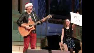 "Andy Grammer - ""Keep Your Head Up"" - Live 12-10-12 Worcester, MA"