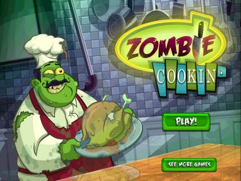 Zombie Cookin' - iPad 2 - HD Gameplay Trailer: Zombie Cookin' by Beeline Interactive, Inc.  PLEASE NOTE: Zombie Cookin' is free to play, but charges real money for additional in-app content. You may lock out the ability to purchase in-app content by adjusting your device's settings.   Additional Note: Zombie Cookin' requires an iPhone 3GS, iPod Third Generation, iPad or later device to run.  ------------------------   A dash of kitchen simulation, a smattering of social elements and a heaping spoonful of Zombies. Play as a Zombie Chef and cook Zombie Food, prepare ingredients and put them in the stove or oven for just the right amount of time.  While Zombie Cookin' is free to play, players can accelerate gameplay or acquire unique items by purchasing