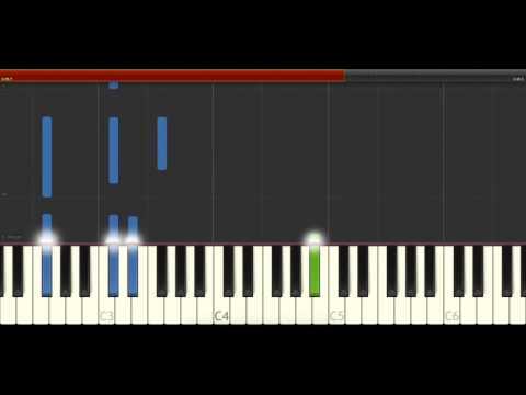 The xx I Dare You Piano Midi tutorial Sheet app Cover Karaoke