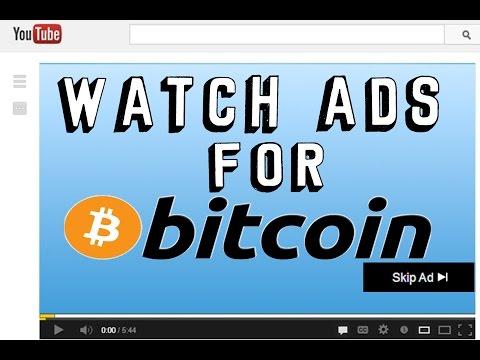 EARN BITCOIN WATCHING VIDEOS | 2017