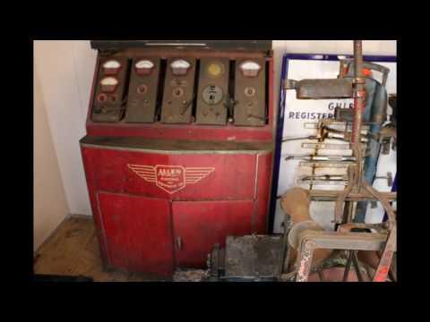 Vintage Automotive Auto Repair Shop Equipment For Sale