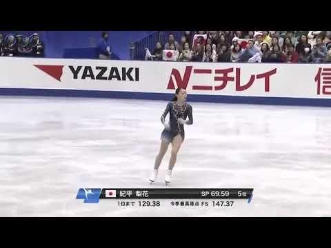紀平梨花 NHK杯 初出場で初優勝!【NHK杯フィギュア2018】