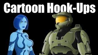 Cartoon Hook-Ups: Master Chief and Cortana Pt. 1