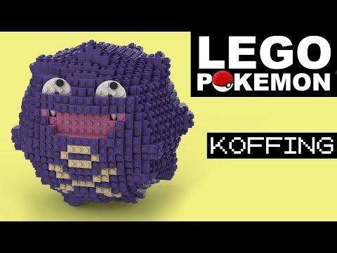 KOFFING LEGO POKEMON (Custom Creation)