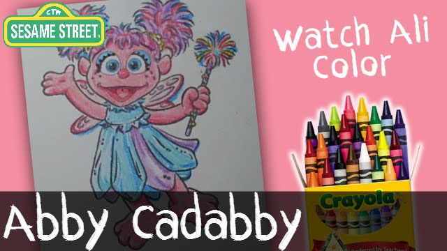 Abby Cadabby Coloring