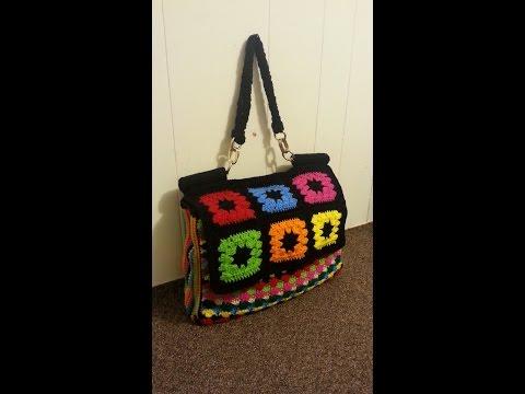 CROCHET How to #Crochet Look A Like Dolce & Gabbana Designer Handbag  #TUTORIAL #144 LEARN CROCHET