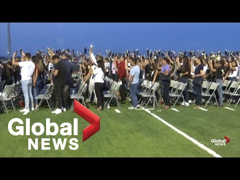 Texas school where El Paso victim attended holds vigil