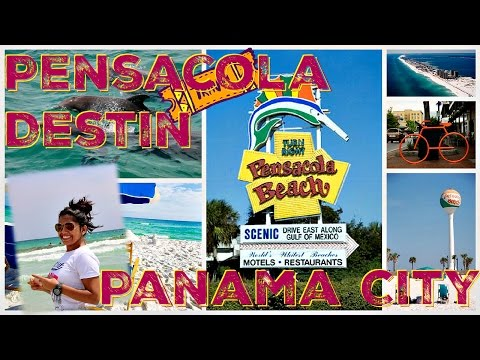 PENSACOLA - DESTIN - PANAMA CITY  (FLORIDA) USA Trip :)
