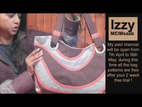 Teeny Hand Bag (Recycled Jeans) making handbag / DIY Bag Vol 11A