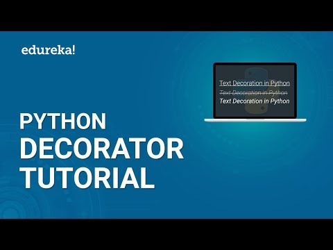 Python Decorator Tutorial | Decorators in Python For Beginners | Python Tutorial | Edureka thumbnail