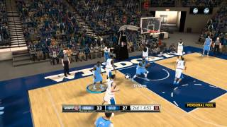 NCAA College Hoops 2k12 - Benefits of Being Michael Jordan's Son ft Neal Bridges by QJB